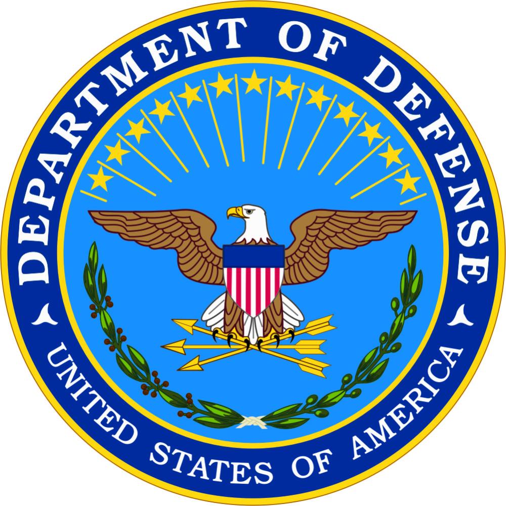 Department Of Defense America Art Military Logo Money Poster