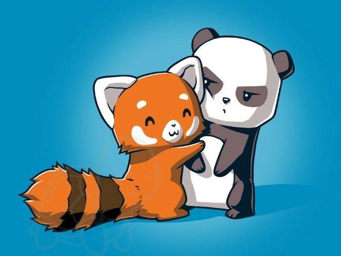 Hugs 4 All Dessin Animaux Mignons Art De Panda Panda Dessin