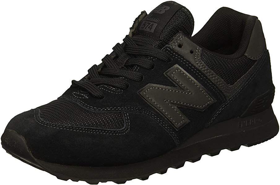 Amazon.com | New Balance Men's 574v2 Sneaker, Black/Black ...