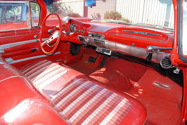 1959 Chevy Impala Interior