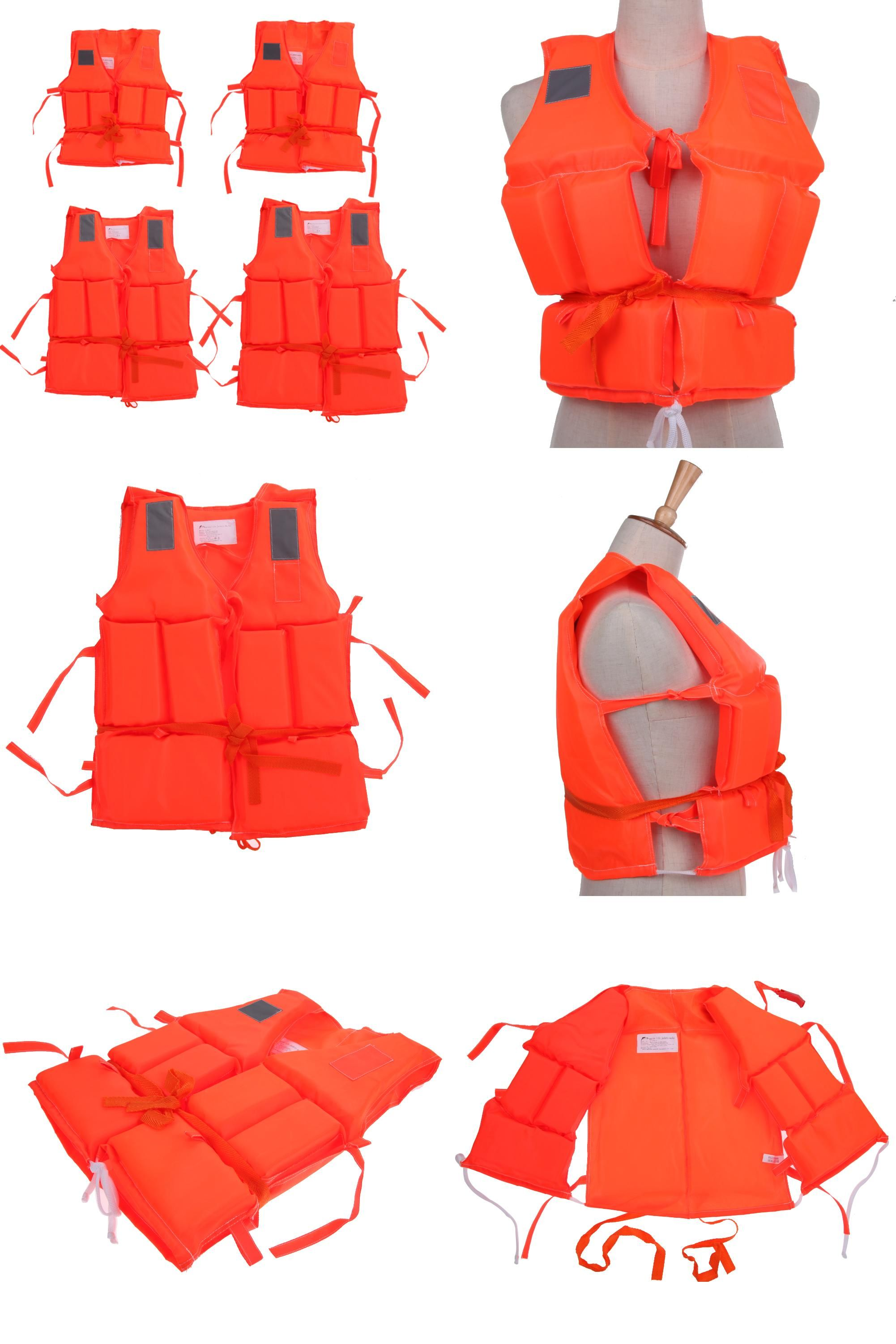 visit to buy] kid to adult plus size polyester life jacket