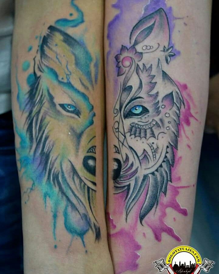 Tatuaje Para Parejas De Las Manos De Alejandro Y Juan Carlos