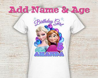 Personalized Custom Sing Movie Birthday Girl Party Gift T Shirt Name On T