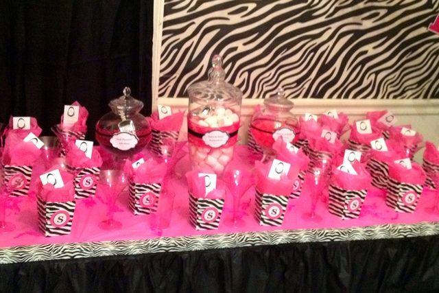 PinkZebra Theme Ladies Night Party Ideas Ladies night party