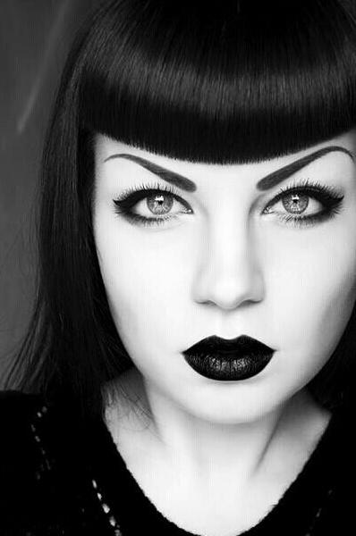 Ask Anya Black Hair Dye Advice Black hair dye, Gothic
