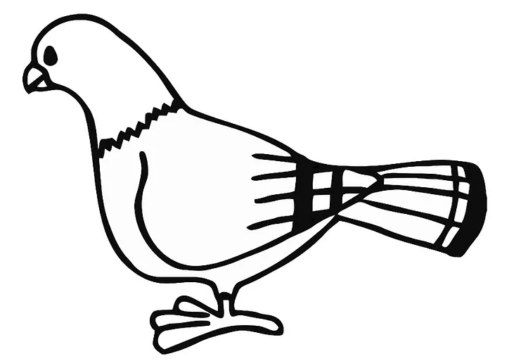 Pigeon Coloring Pages Kids Learning Activity Coloring Pages Cool Coloring Pages Free Printable Coloring Pages