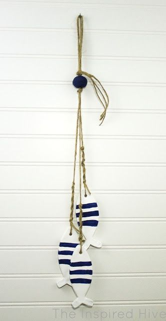 May Monthly DIY Challenge- Air Dry Clay Nautical Decor #craftroomideas