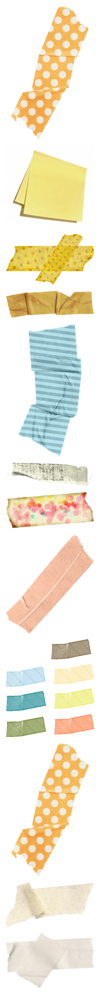 """""""tape & paper"""" by little-dojinbar ❤ liked on Polyvore featuring fillers, tape, effects, backgrounds, fillers - orange, detail, embellishment, yellow, マスキングテープ and filler"""