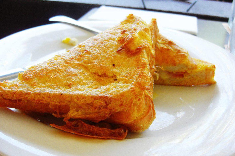 Raspberry Coconut French Toast