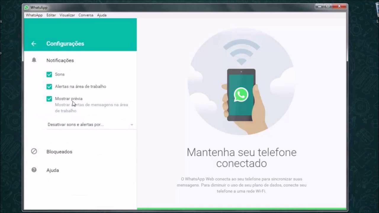APRESENTA Whatsapp para Pc