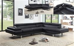 really nice black couch with cup holders and back/top storage under 800.00
