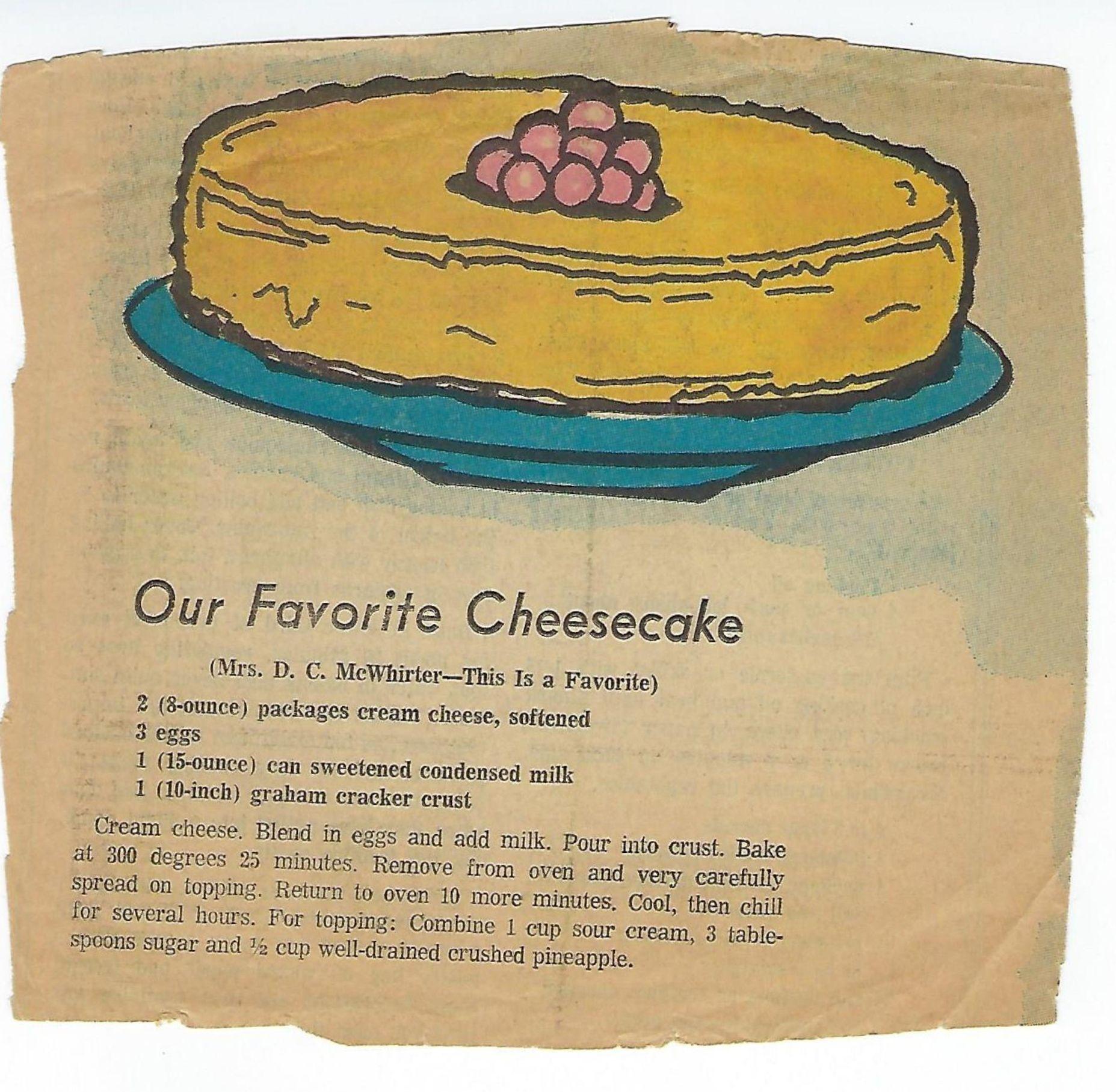 Quick And Easy Cheesecake Recipe Using Cream Cheese Eggs Sweetened Condensed Milk And Graham Cracker Crust In 2020 Quick And Easy Cheesecake Recipe