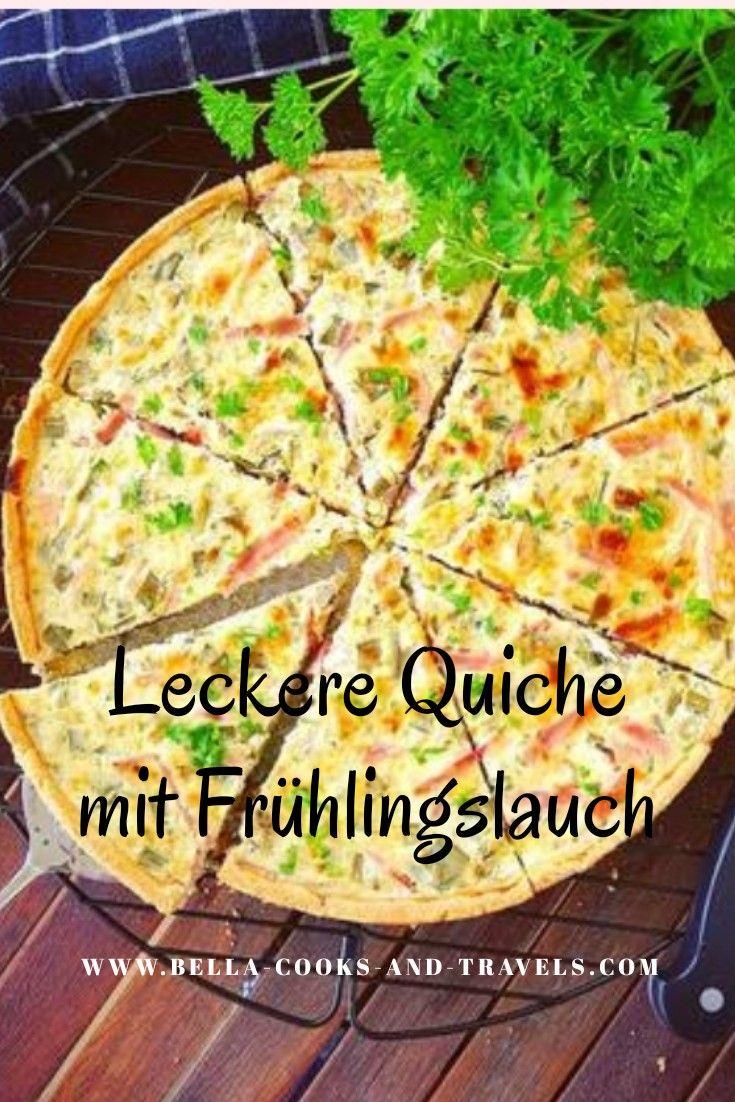 Photo of Tolles Rezept für leckere Quiche mit #frühlingslauch