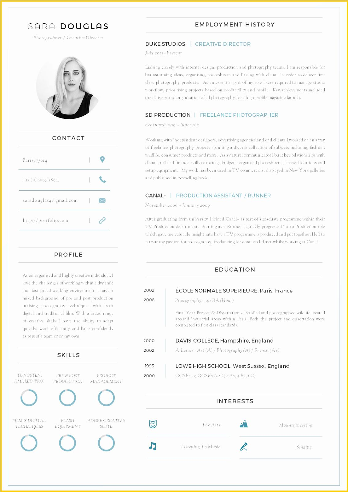Modern Resume Template Word Inspirational Contoh Resume