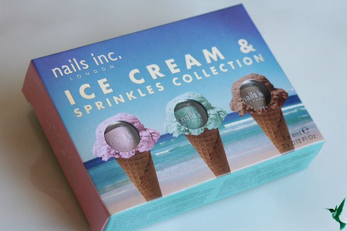Nails Inc. London Ice Cream & Sprinkles Collection