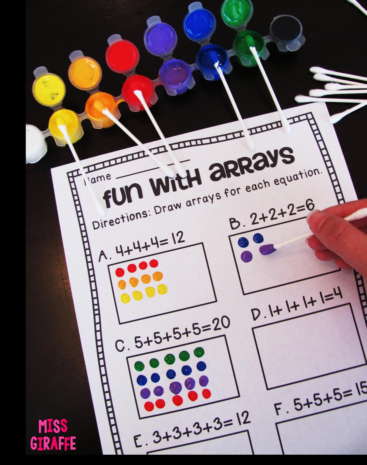 How To Teach Arrays