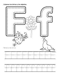 Fichas De Abecedario Para Colorear Y Aprender El Trazo De Las Letras Trazos De Letras Abecedario Para Ninos Abecedario Para Imprimir