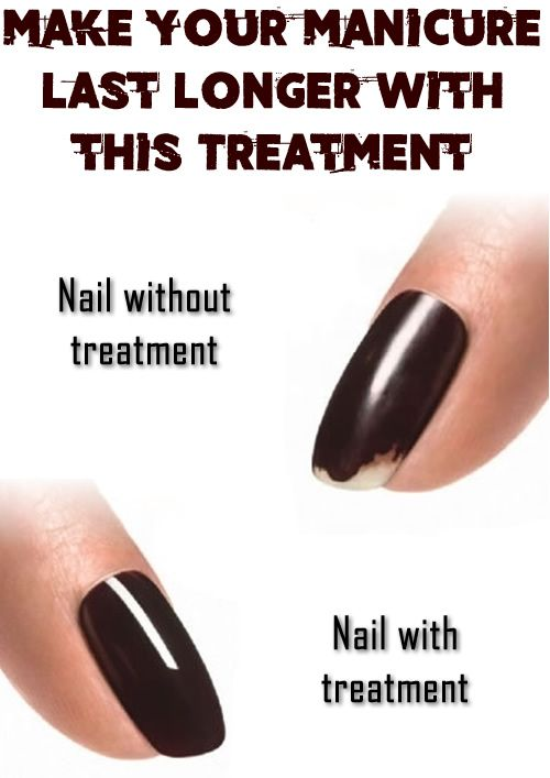 Make your manicure last longer with this treatment | Manicure ...