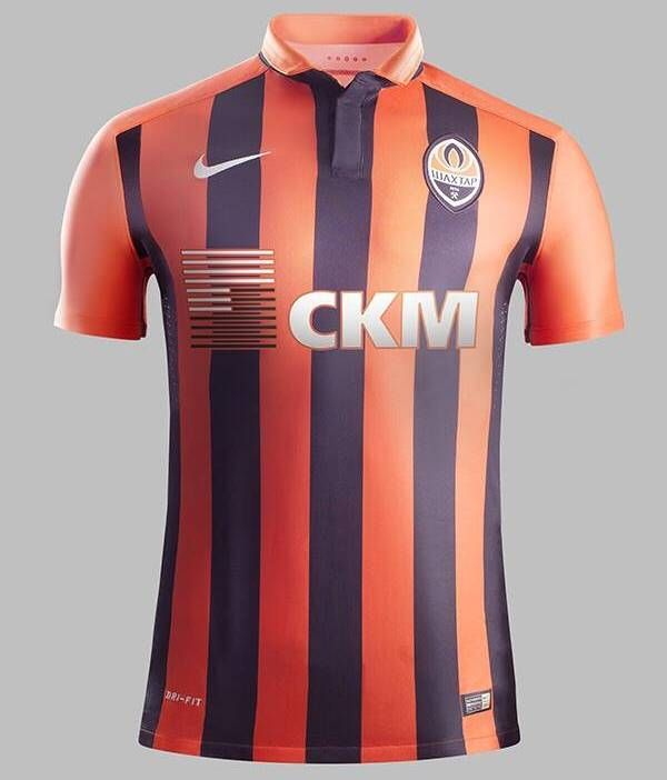 Shakhtar Donetsk Home Jersey 20152016 | Sport Shirts | New