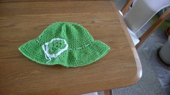 Beautiful Sun Hat on Etsy, $25.00