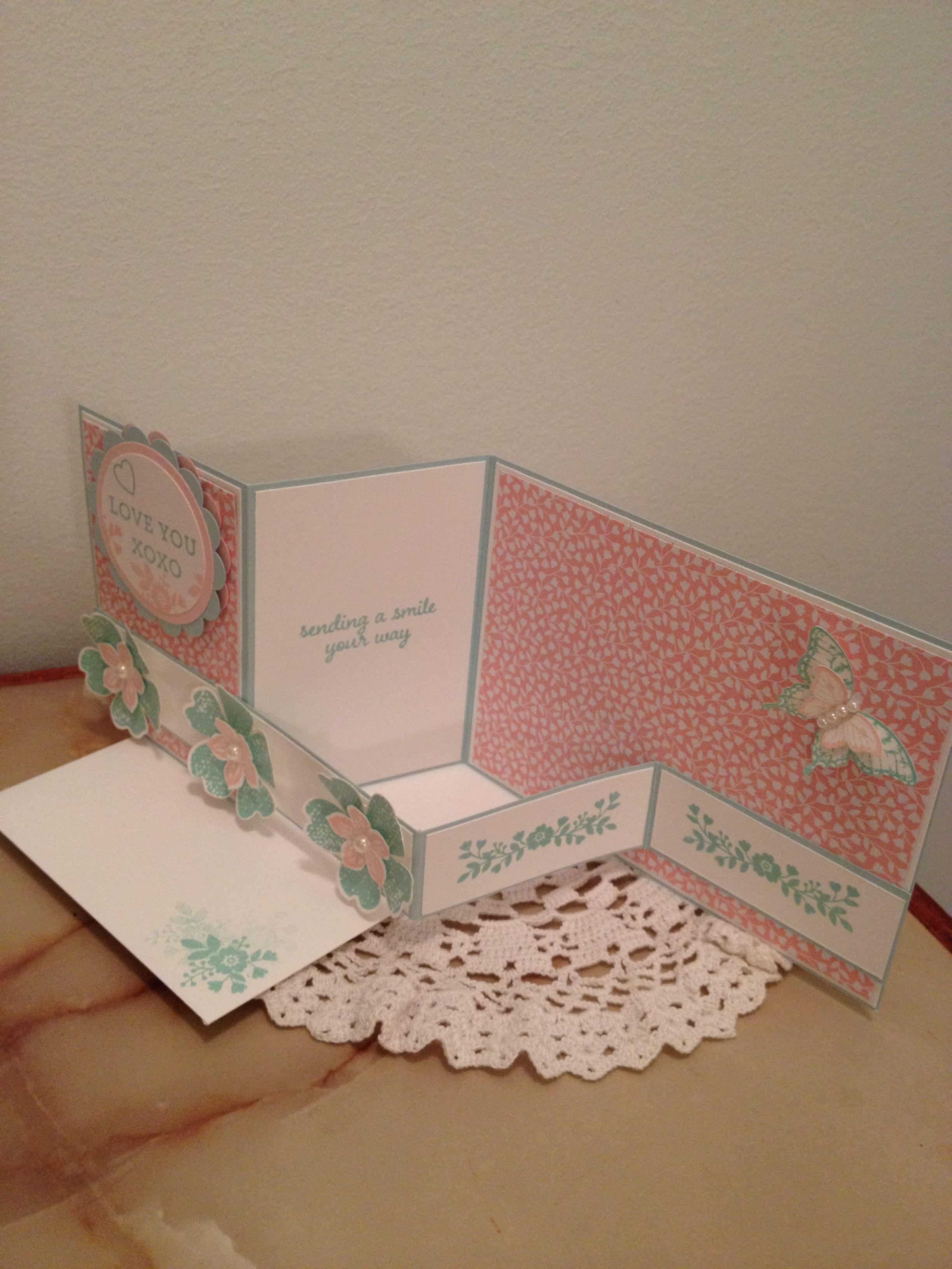 Made by Elna Andrade Stampin up Demonstrator