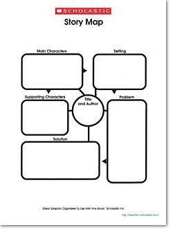 Th Grade Story Elements Graphic Organizer
