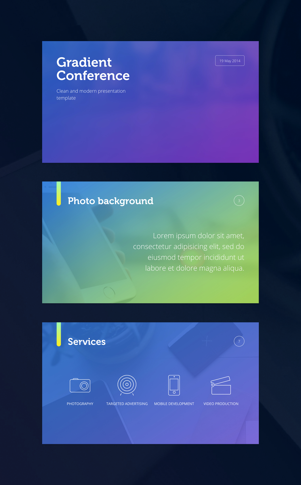 dribbble - gradient-presentation-template-large-viewerigon, Presentation templates
