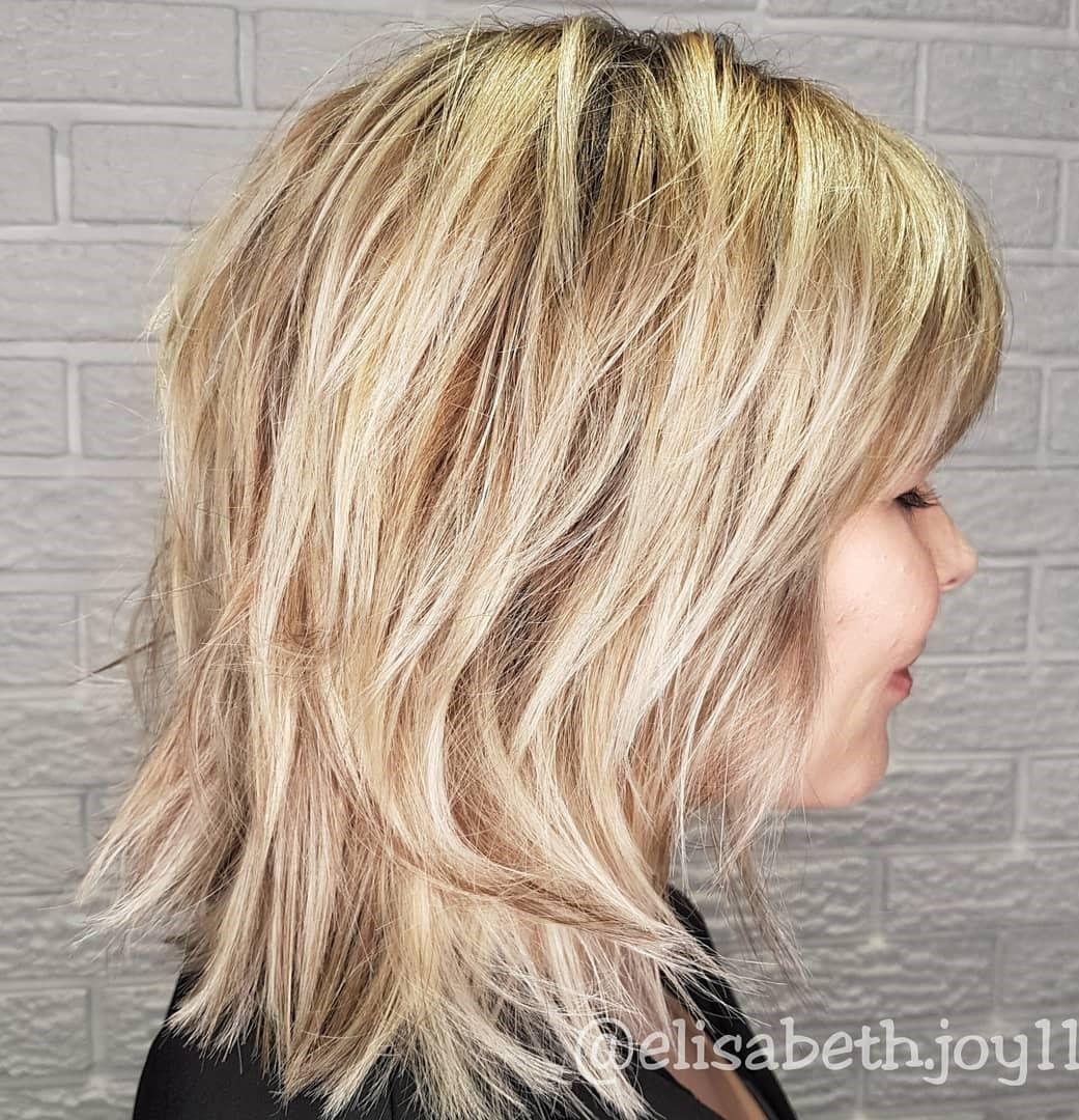 70 Best Variations Of A Medium Shag Haircut For Your Distinctive Style Medium Shag Haircuts Shag Haircut Medium Hair Styles