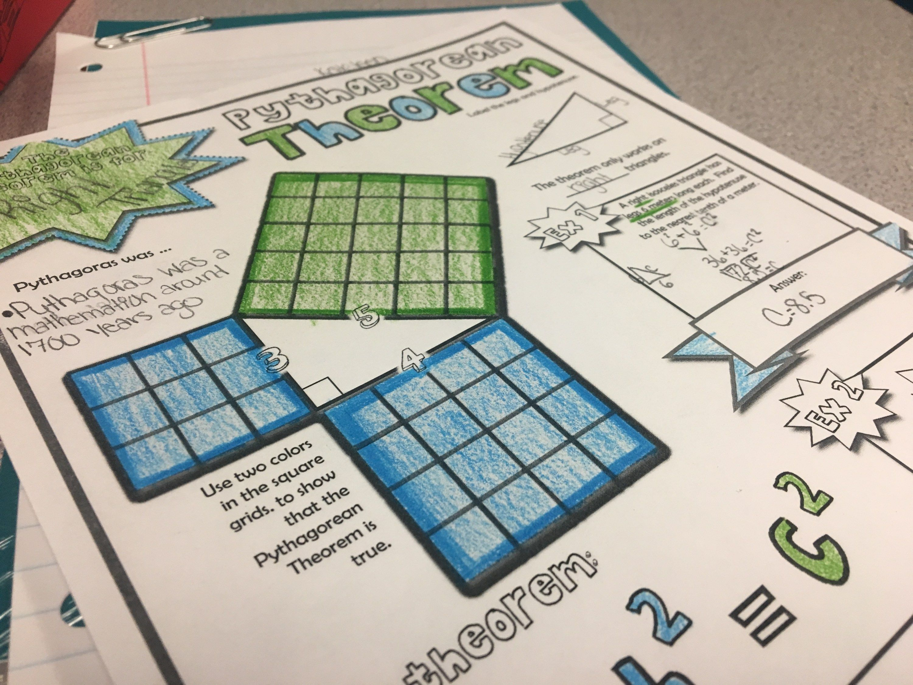 13 Pythagorean Theorem Activities for Your Classroom | Fun ...