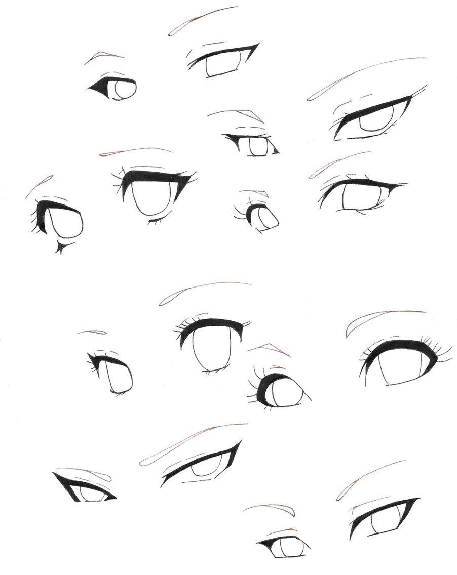 Bora Copiar Para Aprender Kk Anime Eye Drawing Anime Drawings Sketches Anime Drawings Tutorials