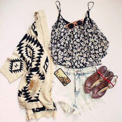 ☮ American Hippie Bohéme Boho Summer Festival Style ☮