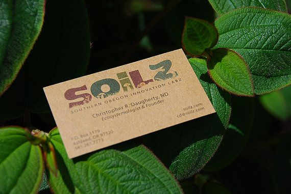 17 Best images about Organic Business Cards on Pinterest | Cards ...