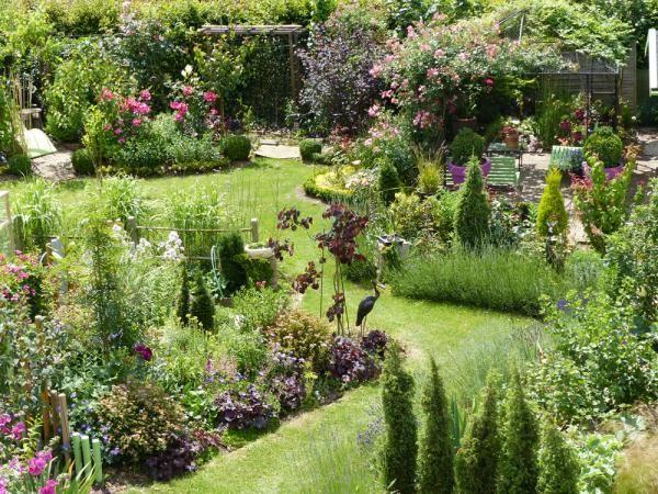 Jardin l 39 anglaise fleurs jardins pinterest for Jardin a l anglaise photos