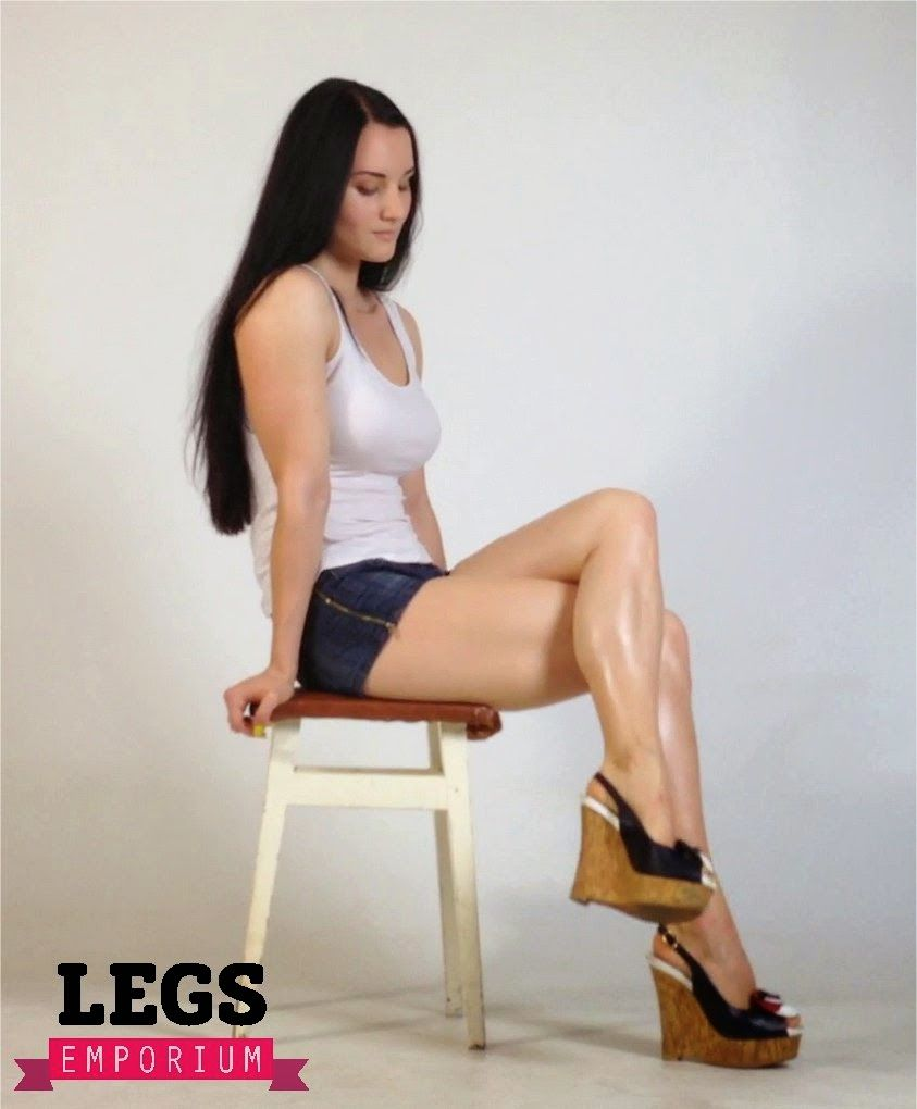 Pantyhose improve health legs play with