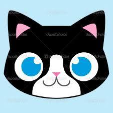 resultado de imagem para desenhos de rosto de gatos gatinhos