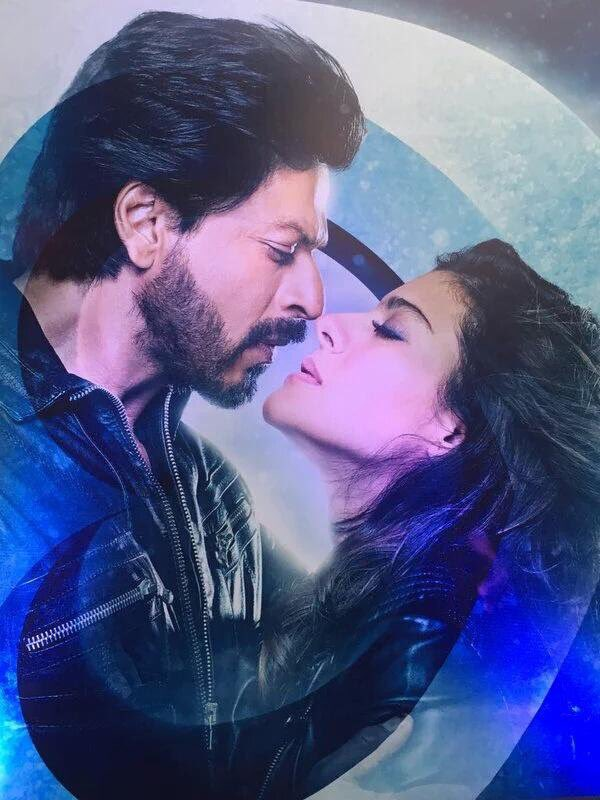 Kajol and SRK  Dilwale Movie Poster  Bollywood and