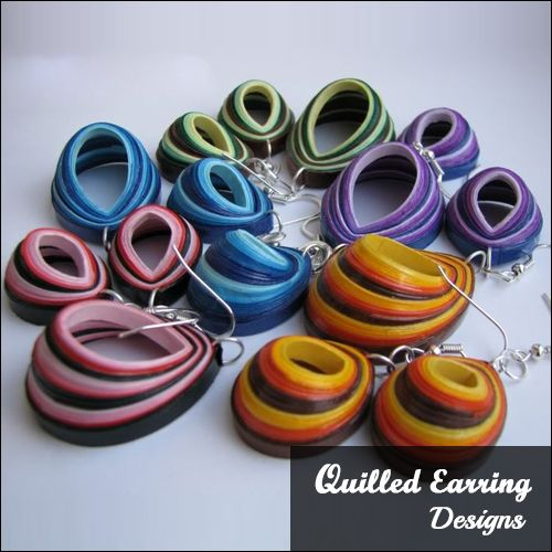 55 Beautiful Paper Quilling Earrings Design Inspiration Lets ... Quilling Jewelry ...