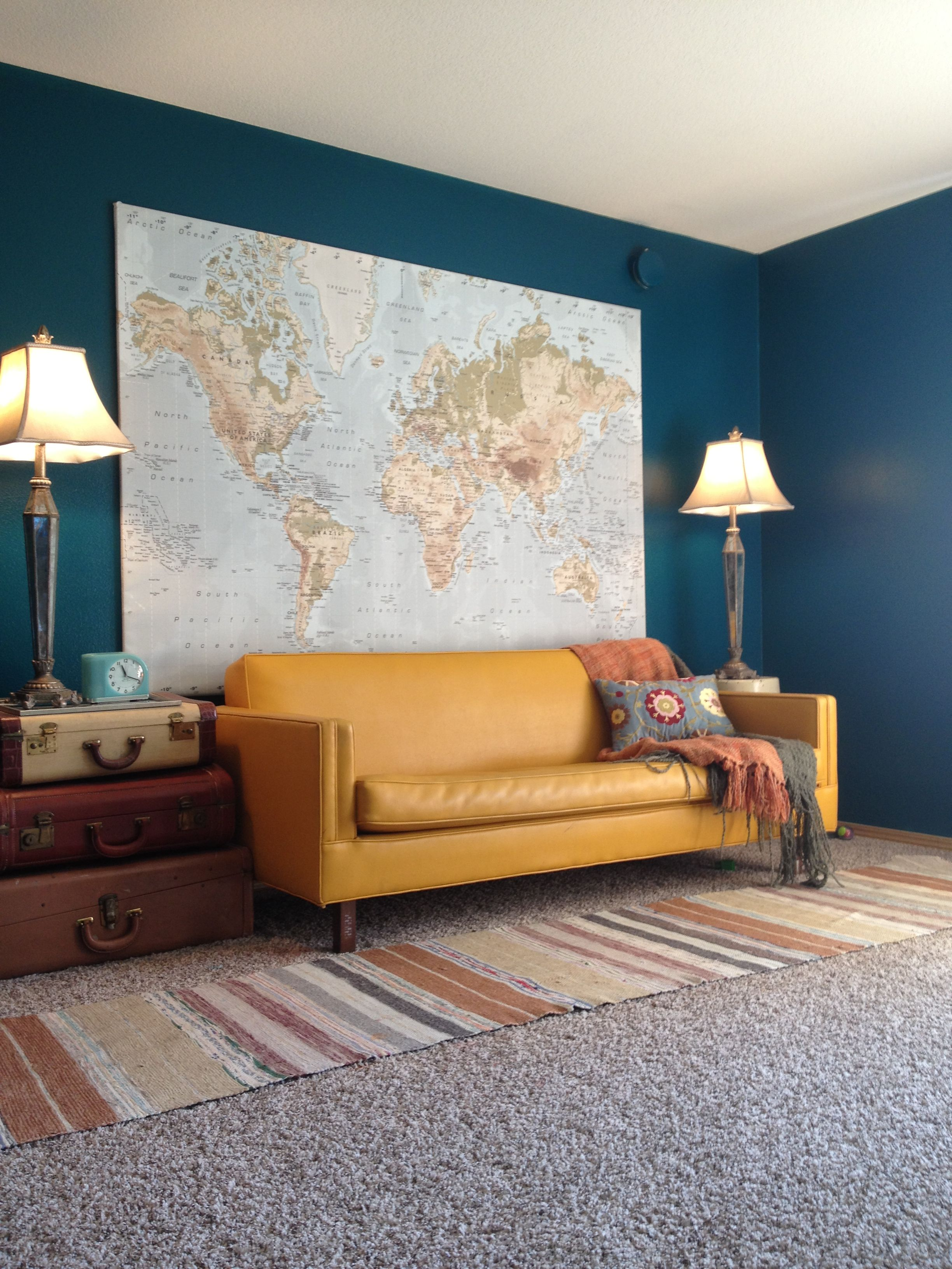 Pamela Wirtanen- this is my living room, I love color may ...