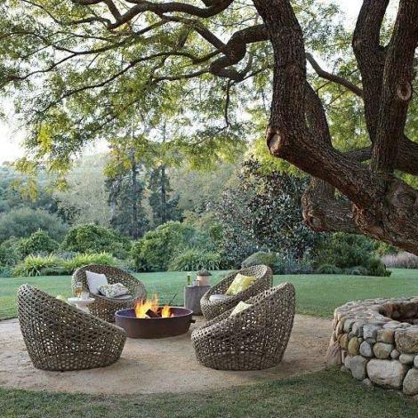 #outdoorfire #conversationseating #outdoorliving
