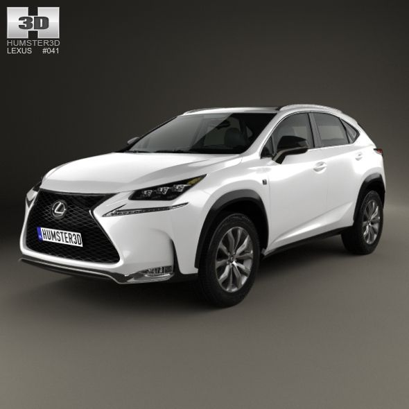 Lexus NX F Sport 2014 By Humster3d The 3D Model Was
