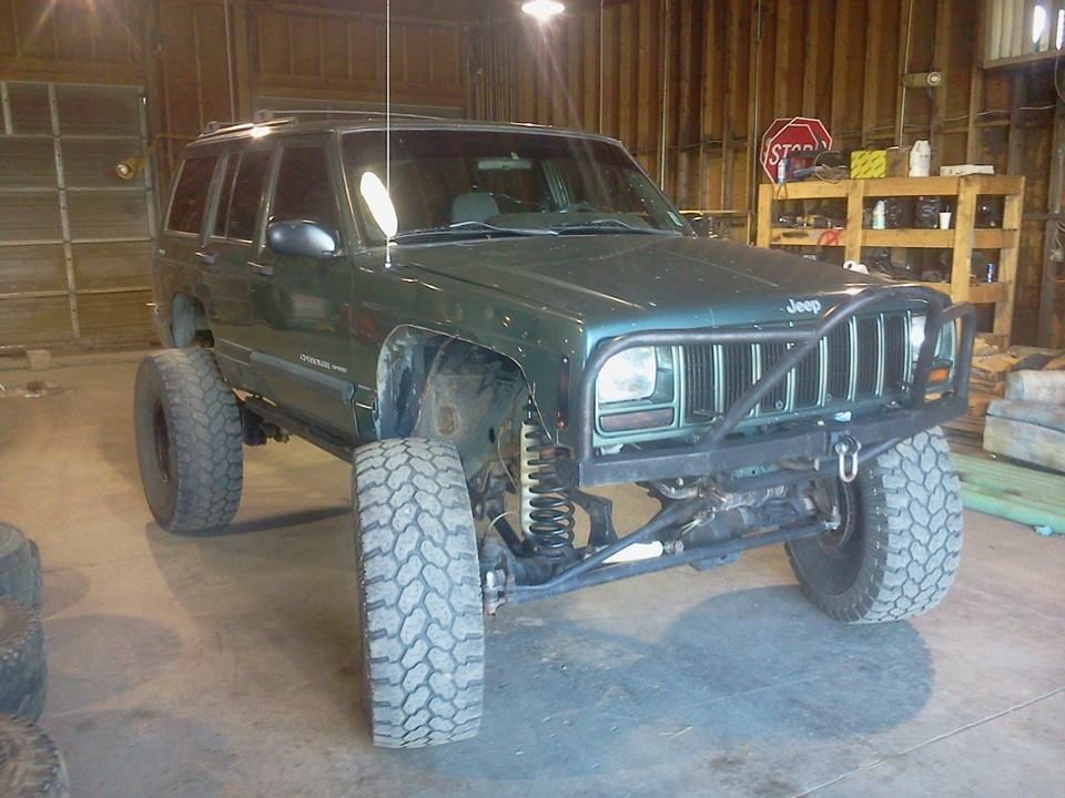 2000 Jeep Xj Dana 60 Rear Dana 44 Front Fully Locked 8 5 Lift 37s