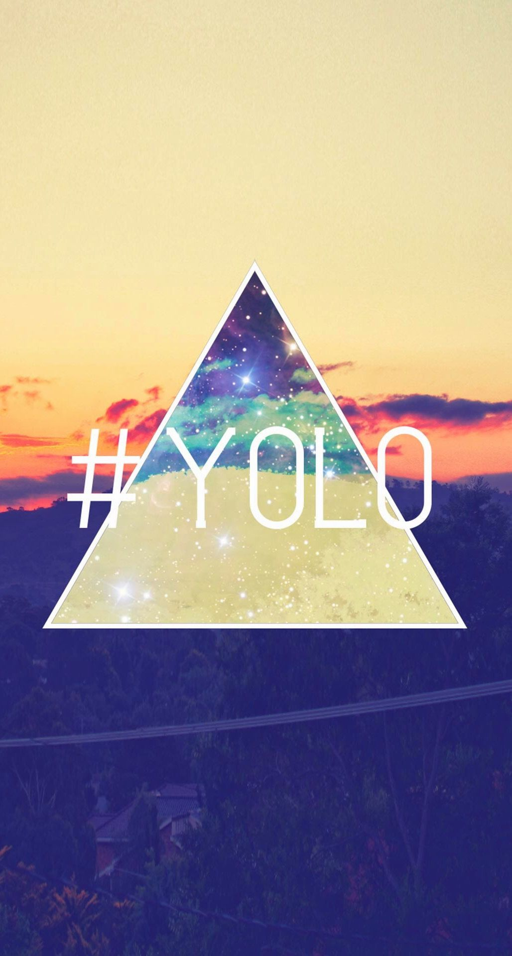 Wallpaper iphone retro - Yolo You Only Live Once Retro Iphone 6 Plus Hd Wallpaper