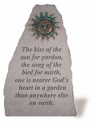 The Kiss Of The Sun For Pardon The Song Of The Bird For Mirth