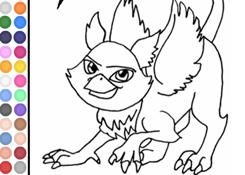 Colorear Monster High.com - Juego: Colorear Roux - Jugar Gratis Online