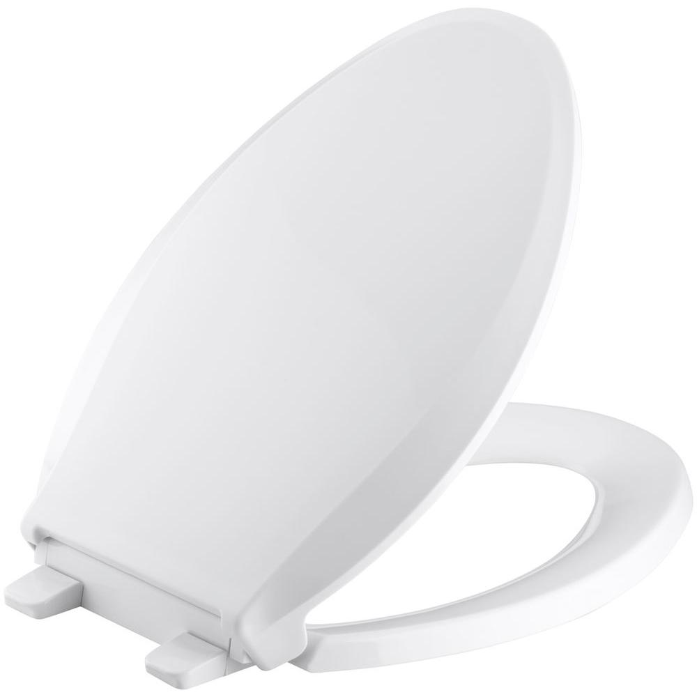 Kohler Cachet Quiet Close Elongated Closed Front Toilet Seat With