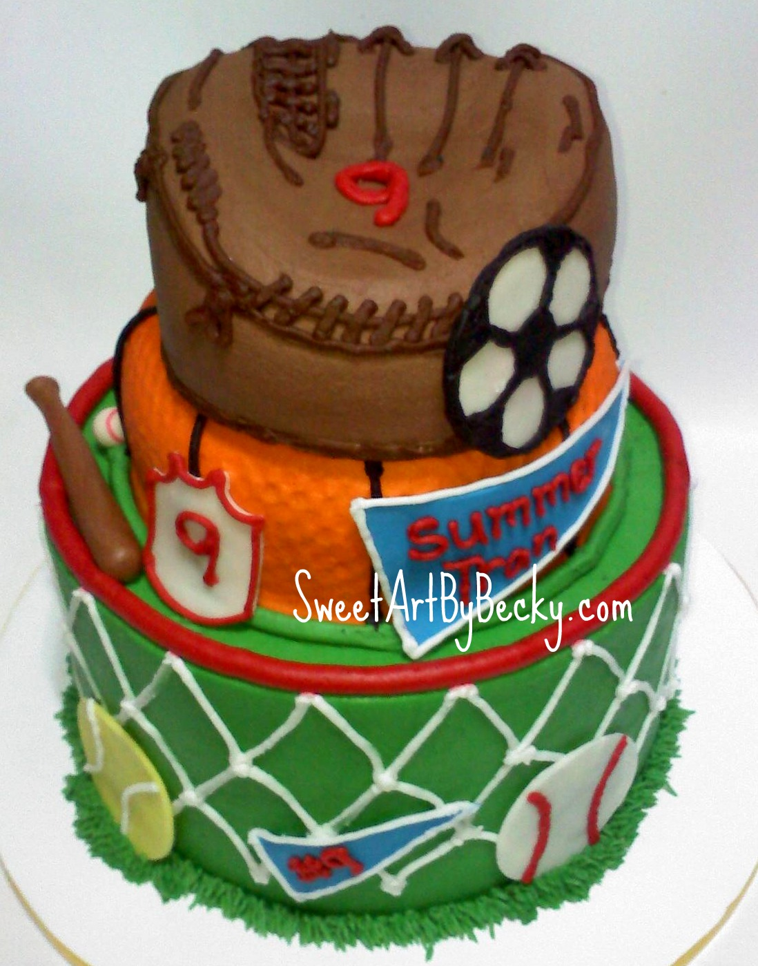 sports cakes for birthdays Cleveland Dayton Wedding