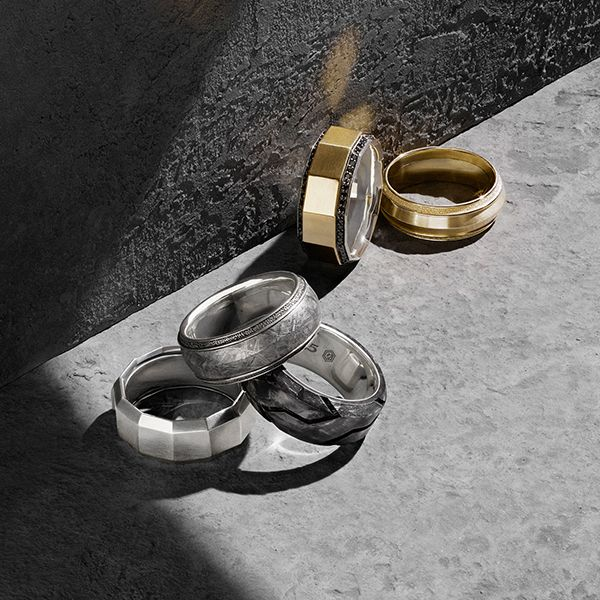 Signature band rings David Yurman Pinterest Band rings