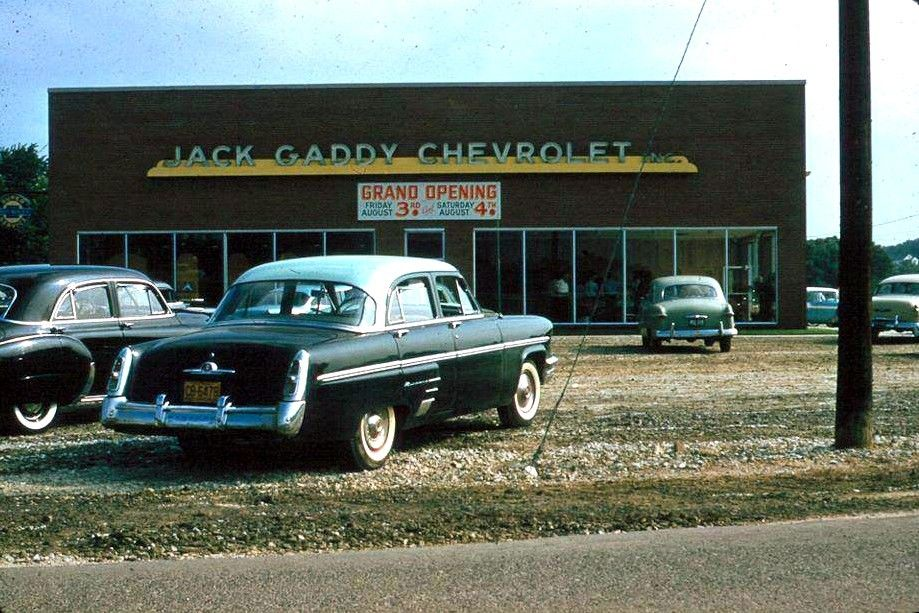 1950 S Jack Gaddy Chevrolet Dealership Mount Airy North Carolina