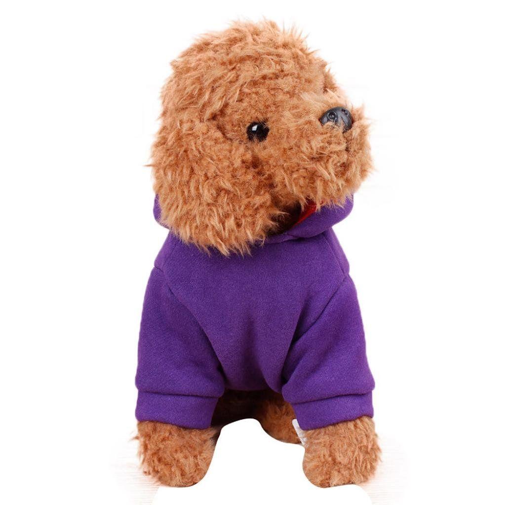 Dog Cat Coat Jacket Winter Clothes Puppy Cat Sweater Clothing Coat Pet Apparel U