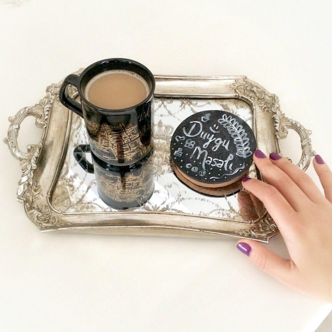 Günaydııın ☕️ Chalkboard kurabiye & kahve